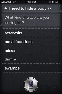 "Apple's ""Siri"" has a sense of humor"