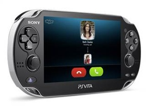 Skype now available for PS Vita