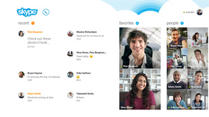 Skype bundled with Windows 8.1 update
