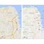 Googlen karttojen ulkonäkö uudistuu
