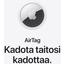 Applen osoitelappu matkalaukkuun maksaa 373 euroa