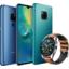 Huawein uudella huippupuhelimella onnistuu jopa iPhonen lataaminen