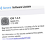 iOS update 7.0.4 now available with FaceTime bug fix