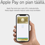 Vihdoinkin: Osuuspankille tulossa Apple Pay -tuki
