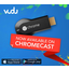 Chromecast gets VUDU, Rdio and Crackle support