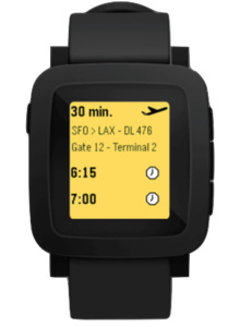 A Pebble smartwatch with a color display is coming tomorrow and here's proof