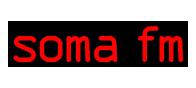 SomaFM's streaming radio available on the iPhone