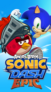 The Angry Bird and Sonic mashup is really happening