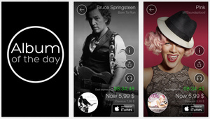 Sony 'Album of the Day' app offers deep discounts on music album downloads