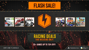 PSA: Sony drops price of nearly 30 racing games by up to 75 percent