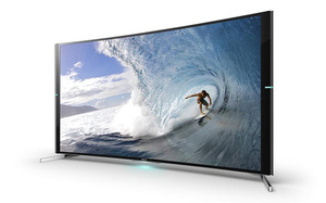 Sony shows off Curved 4K HDTVs