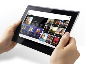 Sony's Tablet S is here