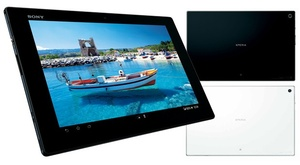 Sony shows off new flagship Xperia Tablet Z