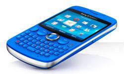 Sony Ericsson txt handset unveiled