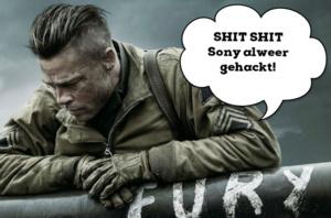DVD screener 'Fury' gelekt dankzij hack Sony
