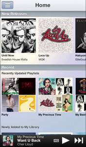 Sony's Music Unlimited iOS app gets 320kbps streaming, Offline listening