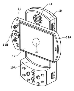 Sony patents PSP phone concept