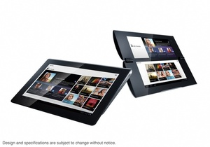 Sony shows off S1 and S2 Honeycomb tablets