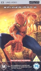 Spider-man 2 -UMD-elokuva jaossa