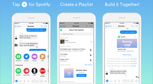Spotify hopes groups build playlists through Messenger
