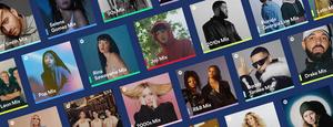 Spotify lisäsi uusia yksilökohtaisia listoja