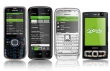 Spotify tuli vihdoin Symbian-puhelimille