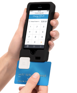Square, Griffin show off integrated case reader for merchants