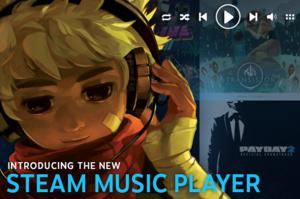 Steam soittaa nyt musiikkiasi