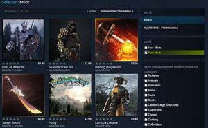 Skyrim-modeja voi nyt myydä Steamissä