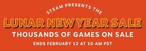 The Steam 'Lunar Year Sale' has begun