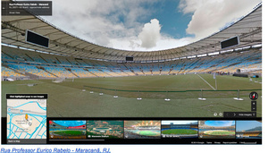 Google Street View covers World Cup venues, streets