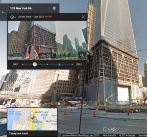 Terug in de tijd met Street View