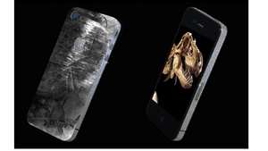 Stuart Hughes begins selling custom iPhone made of prehistoric meteor and T-Rex tooth