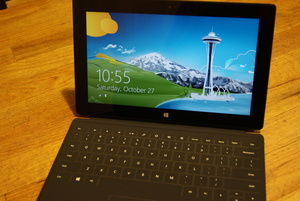 Microsoft understated free usable space for Surface Pro