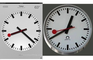 Swiss Rail accuses Apple of stealing clock design