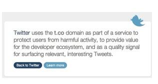 Twitter lisää lyhentämiinsä linkkeihin 2 merkkiä
