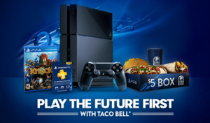 Sony and Taco Bell team up to give away free PlayStation 4s