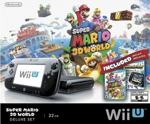 Deal: Wii U, Super Mario 3D World & Nintendoland for $250 at Target