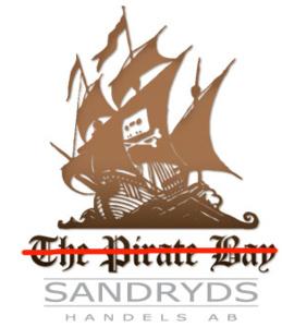 The Pirate Bayn logo kaapattiin