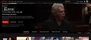 Kaikki Netflixiin palaavat Originals-sarjat tammikuussa: The Ranch, BoJack Horseman, ...