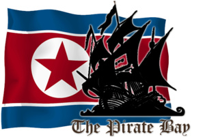 The Pirate Bay krijgt virtueel asiel in Noord-Korea