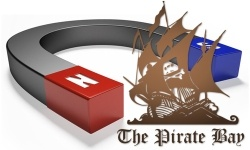 The Pirate Bay luopui torrent-tiedostoista