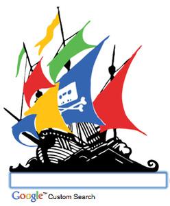 The Pirate Google etsii torrentit helposti ja nopeasti
