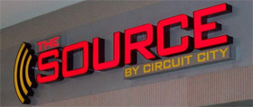 'The Source' stores go up for auction