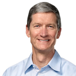 Apple CEO's overall compensation falls dramatically from 2011