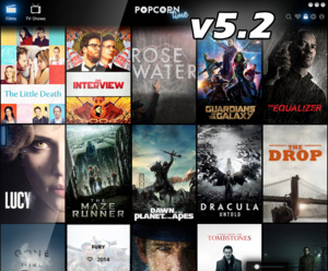 Nieuwe releases Popcorn Time (Time4Popcorn)