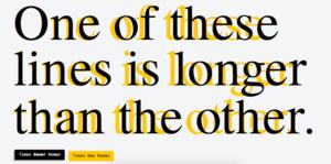Tämä fontti saa esseesi näyttämään pidemmältä