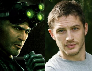 Tom Hardy spiller Sam Fisher i kommende Splinter Cell film