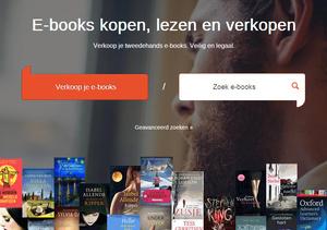 Verkoop tweedehands e-books via website Tom Kabinet mag vooralsnog doorgaan.