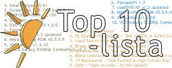 Viime viikon top 10 -listat
